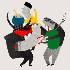 chơi nhạc lên, rồi hòa mình vào đi, để không phải ngồi ôm khư khư cái suy nghĩ đấy, để không bị trì trệ, nhảy trong nhạc, cũng là cách giúp cho  cái đầu tỉnh  táo..