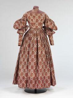 The Me I Saw   Dress, 1830s.