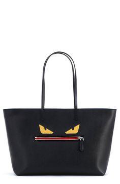 Monster Tote Bag, Black Multi by Fendi at Bergdorf Goodman. ec9948b867