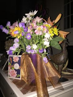 Bouquet with Campanula