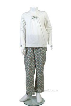 Pijama Camiseta Franela, Otoño Invierno 2014/2015