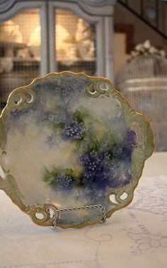 Gorgeous Hand-painted plate