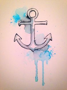 Anchor tattoo sketch GORGEOUS! | Anchor Tattoos | We Heart It