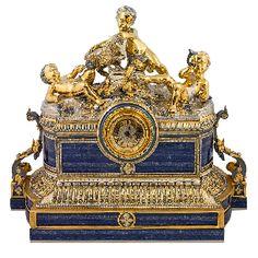 Часы каминные с ангелами - Часы Златоуст <- Часы каминные, настольные <- Интерьер <- VIP - Каталог | Универсальный интернет-магазин подарков и сувениров