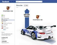 Tab Facebook: Porsche