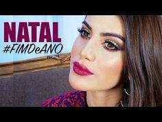 ▶ #FimDeAno - Maquiagem Natal 2014 - YouTube