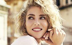 Download wallpapers Elsa Pataky, 4k, smile, portrait, photoshoot, face, Spanish actress, fashion model, Hollywood stars, Elsa Lafuente Medianu