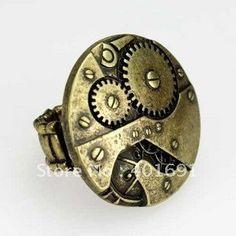 steampunk stretch ring