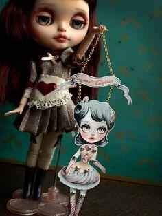 Sugar Circus Blythe doll - Diy articulated paper doll by KarolinFelix