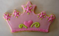 Pretty cookie!pink crown