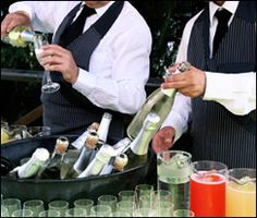 Bar service by Callier's Catering.