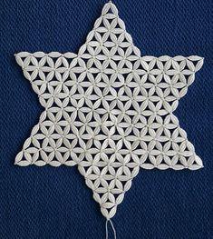 Que des points d'esprit. Tatting Patterns, Bobbin Lace, Crochet Lace, Hanukkah, Mandala, Wedding Dresses, Pictures, Diy, Christmas