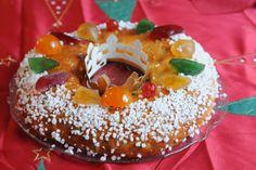 13 desserts, chacun: Gâteau des rois provençal ou brioche des rois