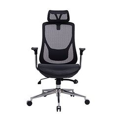 Amazon.com: VIVA OFFICE High Back Mesh Chair, Executive& Managerial Chair with Adjustable Headrest,Upgraded Armrest and Great Lumbar Support -Viva1168F1K: Furniture & Decor