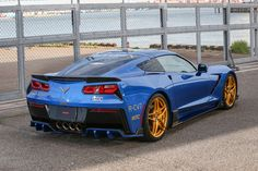 2014 + Corvette C7 Style Kit- Carbon(Front, left side, right side, rear, spoiler)