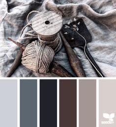 rustic tones | design seeds | Bloglovin'