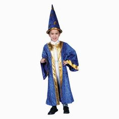 Child Wizard Robe and Hat