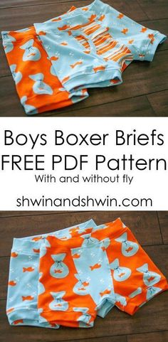 Sewing For Kids Clothes FREE SEWING PATTERNS: Kids' Pattern Collection Boy's boxer briefs - Free sewing pattern for simple drawstring backpack that's perfect for summer. A DIY kids backpack and drawstring backpack tutorial. Sewing Patterns For Kids, Sewing Projects For Kids, Sewing For Kids, Baby Sewing, Free Sewing, Diy For Kids, Sewing Ideas, Drawstring Backpack Tutorial, Underwear Pattern