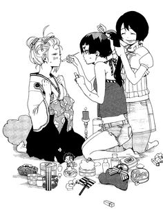 Blue Exorcist girls