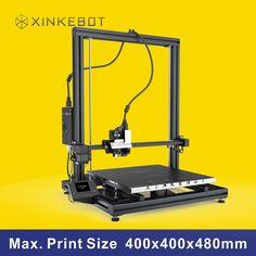 1899.00$  Watch now - http://alipqq.worldwells.pw/go.php?t=32651603394 - High Quality Precision Reprap Prusa i3 DIY 3D Printer Machine Xinkebot ORCA2 Cygnus 3D printer Large Build Size 400x400x480mm 1899.00$
