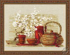 Tea - Cross Stitch Kits by RIOLIS - 1122