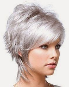 Blonde short hairstyles 2014 -- I really like this.