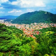 Looking down on the King of Romanian cities #Brasov #Kronstadt #Romania