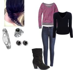 """""""clothes."""" by i-love-idk ❤ liked on Polyvore"""