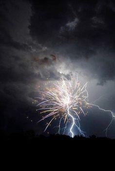 Lightning Strikes Firework