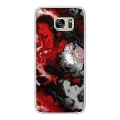 Black gray white and red abstract - iPhone 6s Case,iPhone 6... (125 BRL) ❤ liked on Polyvore featuring accessories, tech accessories, phone cases, phones, phonecase and android case