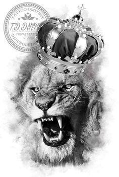 Lion Tattoo Design, Lion Design, Lion Tattoo Sleeves, Sleeve Tattoos, Tattoo Sketches, Tattoo Drawings, Skull Hand Tattoo, Lion Head Tattoos, Lion Photography