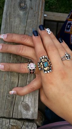 """""""Thank you for our beautiful rings. My daughter Kalynne Cheyanne loves her class ring and I love my mother's ring.""""  ~~Thank you for sharing!"""