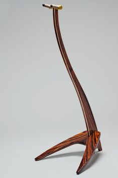 Wooden guitar stand #GuitarStand