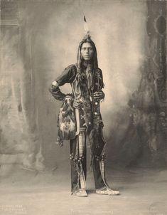 Frank A. Rinehart Pete Mitchell (Dust Maker), Ponca Nation, Omaha, Nebraska 1899
