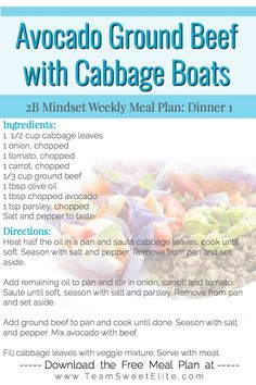 Clean Eating Recipes, Healthy Dinner Recipes, Low Carb Recipes, Freezer Meals, No Cook Meals, Different Diets, Body Coach, Food News, Week 5