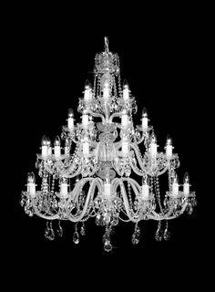 Bohemian Crystal Chandelier-CL109-36
