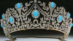 Turquoise Parures of Queen Mary - Princess Margaret's tiara