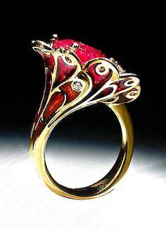 Jewelry Rings, Jewelry Watches, Jewellery, Cuff Bracelets, Bangles, Ring Watch, Trendy Jewelry, Heart Ring, Gemstone Rings