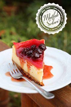 Vişneli Cheesecake – Mutfak Sırları – Pratik Yemek Tarifleri