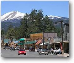 Downtown Ruidoso, New Mexico