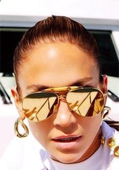 MY SUNGLASSES | Gold Shades