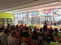 Iniciem els tallers de la tarda a la jornada de dinamització lectora #JDL17 #Esparreguera #quèfemalesbiblios
