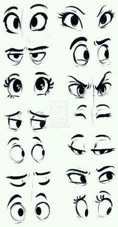 Eyes with a sharpie