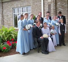 The wedding ceremony is held in the bride's family  home. All members  of the family work hard to receive their guests and are helped by who  ever wants to contribute(from the Amish community). Next, the wedding  ritual is similar to the Christian one, except for the rings exchange,  since Amish don't wear any jewelry. After the ceremony the feast begins.  This is made up of  roast chicken, mashed potatoes, pie, cookies etc.,  all homemade or brought by the guests. After this great feast…