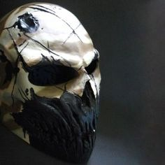 My apocalypse mask Paintball Mask, Airsoft Helmet, Cool Masks, Awesome Masks, Creepy Masks, Army Of Two, Desert Camo, Skull Mask, Half Face Mask