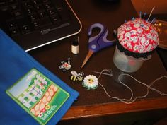 Well, we finished our first Daisy Journey last night! I decided to try to finish Welcome to the Daisy Garden last night because my co-leade. Styrofoam Ball, Thinking Day, Daisy Chain, Mothers Day Crafts, Popsicle Sticks, Girl Scouts, Dollar Stores, Easy Crafts, Hand Sewing
