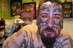 This man wants to become the devil http://dailym.ai/1csTg1m #DailyMail