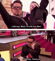 Tony Stark, You are AWESOME!