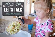 Let's Talk: Cooking With Kids {Plus Info on New Video Series} | Mel's Kitchen Cafe