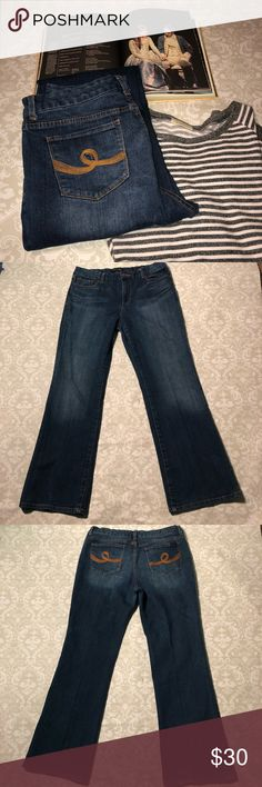 Seven7 Bootcut Jeans Excellent boot cut jeans from Seven 7 jeans.  Size 14 Measurements: Inseam: 32 inches Waist: 17.5 inches  Rise: 11 inches Seven7 Jeans Boot Cut